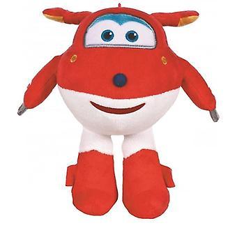 Master Flyers Super Wings Jett Stuffed Animal Plush Toy