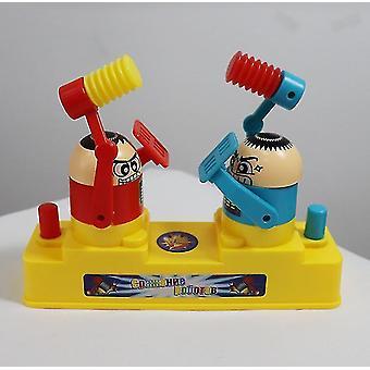foreldre / barn battle board leketøy, dobbel kamp spillespill (rød og blå)