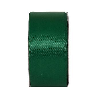 LAST FEW - 3m Evergreen 25mm Wide Satin Craft Ribbon