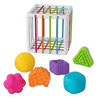 لعب InnyBin شكل فرز لعبة الطفل تعلم اللعب التعليمية للأطفال 0 36month| الكتل