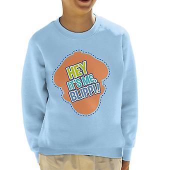 Blippi Hey Its Me Blippi Kid's Sweatshirt