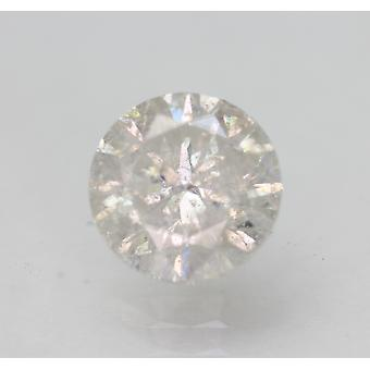 Certified 1.52 Carat E SI2 Round Brilliant Enhanced Natural Loose Diamond 7.1mm