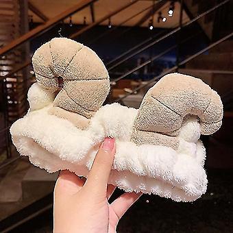 Wash Face Hairbands Girls Turban Fashion Hair Accessories Soft Coral Fleece Hair Holder(63#)