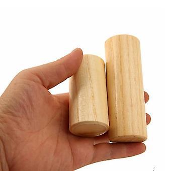 Hout Maraca Kids Muziek Geluid Cilinder Montessori