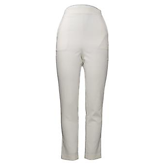 G By Giuliana Women's Pants 12 Hour Stretch Tapered Pull On White 681963