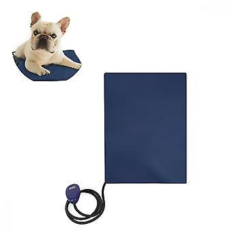 Pet Water-proof, Scratch-resistant Thermostatic Heating Electric Blanket (blue)