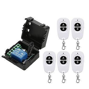 Smart Home 433mhz dc 12v 1ch drahtlose Fernbedienung Schalter Relais Empfänger Sender Fernbedienung Schalter