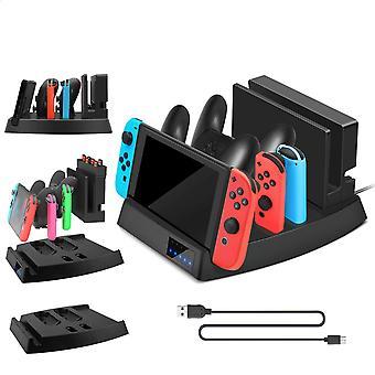 Station de chargeur de station d'accueil de charge pour console Nintendo Switch / joy-con / pro Controller