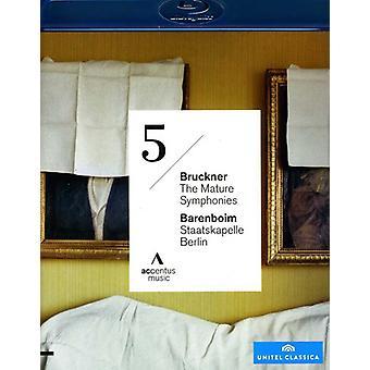 A. ブルックナー - 成熟した交響曲交響曲第 5 [BLU-RAY] USA 輸入