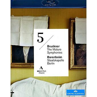 A. Bruckner - volwassen symfonieën Symphonie No. 5 [BLU-RAY] USA import