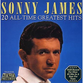 Sonny James - 20 Greatest Hits [CD] USA import