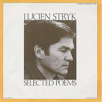 Lucien Stryk - Lucien Stryk: Selected Poems [CD] USA import