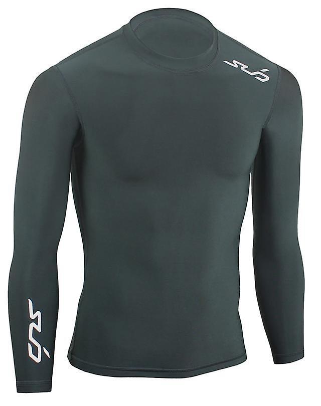 Sub Sports Kids Winter Warm Vest Crew Neck Long Sleeve Thermal Base Layer Fleece