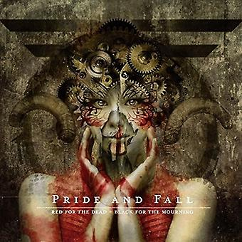Pride and Fall - Red for the Dead Black for the Mourning [CD] USA import