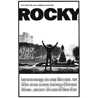 Rocky Movie Million to one shot Poster Poster Print
