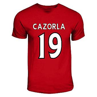 Santi Cazorla Arsenal held T-shirt (rood)