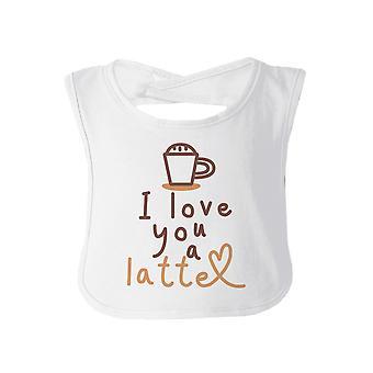 الحب طفل آتية تجشؤ مريلة بيضاء هدية