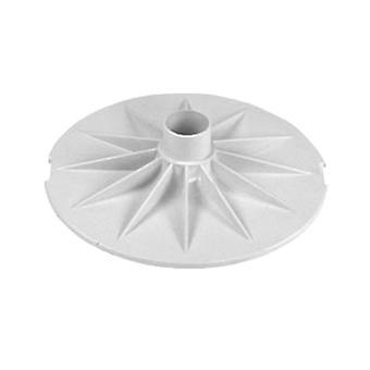 AquaStar SK43101 Vacuum Plate - White