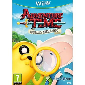 Adventure time Finn en Jake onderzoeken (Nintendo Wii U)-nieuw