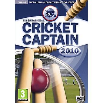 International Cricket Captain 2010 (PC CD) - Nouveau