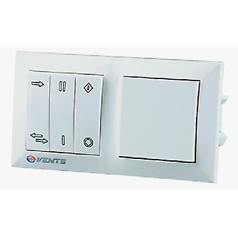 Control de pared con transformador para ahorro de energía el sistema de ventilación serie estándar TwinFresh