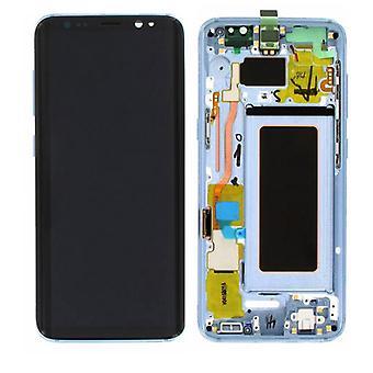 ЖК дисплей полный набор GH97 20457D синий для Samsung Галактика S8 G950 G950F