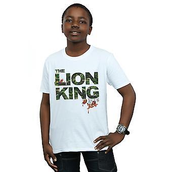 Disney Boys The Lion King Jungle Camo T-Shirt