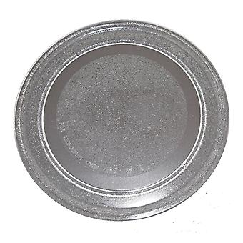 Microwave Glass Turntable 245mm Flat Fits Sanyo Universal