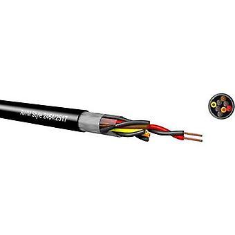 Kabeltronik LiYCY Control lead 4 x 0.14 mm² Black 097042609 Sold per metre