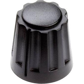 Mentor 4331.4000 Drehknopf schwarz (Ø x H) 14,5 x 14 mm 1 PC