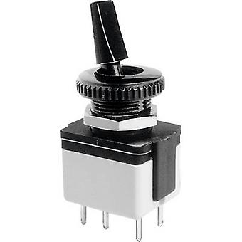 APEM 4641A-22 Toggle switch 250 V AC 3 A 2 x Off/On latch 1 pc(s)