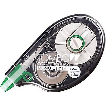 Tombow Correction tape roller MONO CT-YT4 4.2 mm White 10 m 1 pc(s)