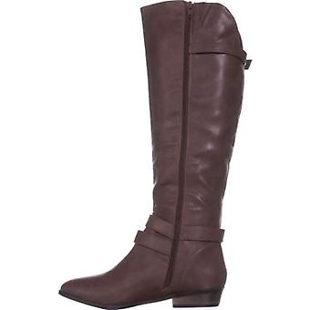 Material Girl Womens Carleigh fechado Toe joelho alta moda botas