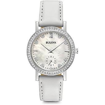 Bulova נשים שעונים קריסטל 96L245