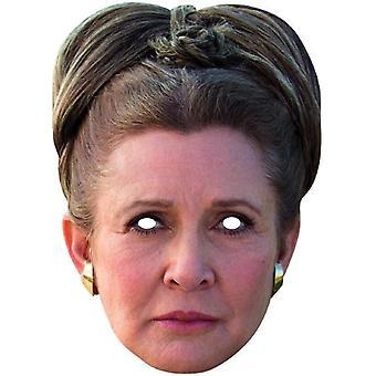 Maska princezna Leia STAR WARS. kartonová maska princezna karneval