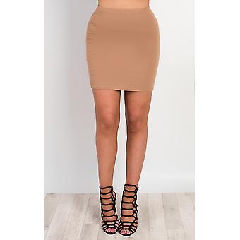 IKRUSH Womens Brihanna Basic Mini Skirt
