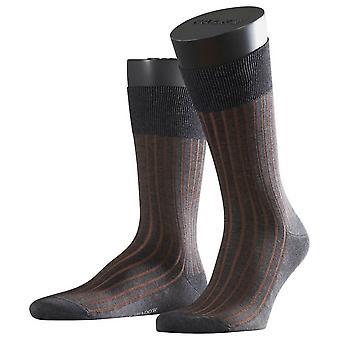 Falke Shadow Socks - Grey/Cognac