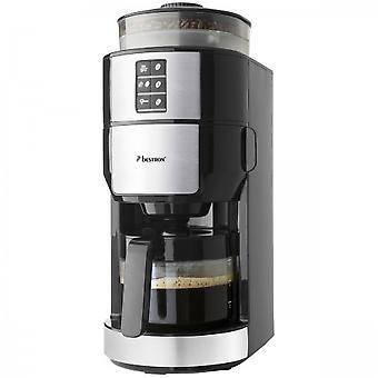 Bestron ACM1100G Kaffeemaschine mit Mahlwerk