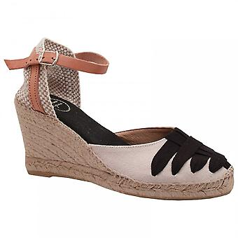 Toni Pons Closed Toeankle Strap Espadrille Wedge