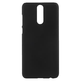 Huawei Mate 10 leggermente gommato duro plastica Shell-nero