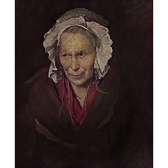 المرأة المجنونة مع هوس الحسد، ثيودور Gericault، 72x58cm