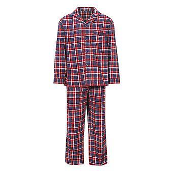 Champion Mens Cambridge Brushed Cotton Check Pyjamas