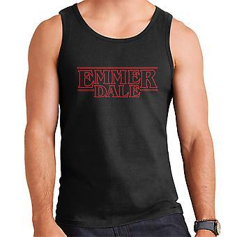 Emmerdale Stranger Things Logo Men's Vest