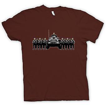 Womens T-shirt - Banksy Graffiti - Polizei Staat