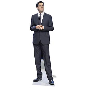 Ed Miliband Lifesize kartonnen uitsnede / Standee
