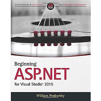 Début ASP.NET Visual Studio 2015