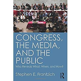 Kongressen, Media og publikum: som avslører hva, når og hvor?