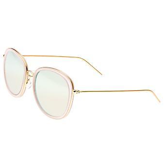 Bertha Scarlett polarizada óculos de sol - ouro/ouro