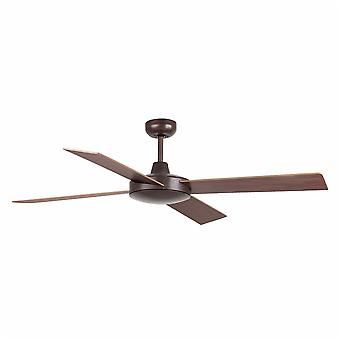 Faro - Mallorca Large Rust Brown Ceiling Fan Without Light FARO33351