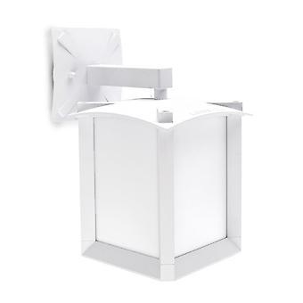 Mark pieni roikkuu ulkona seinälle Asetelman valkoinen - LED-C4 05-9298-14-M1